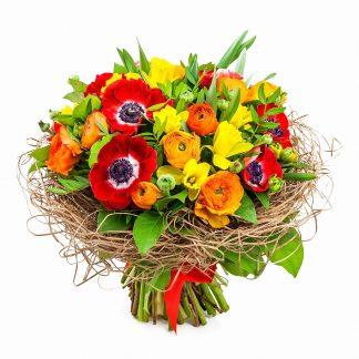 Springtime delivery flowers to Mallorca, Menorca, Ibiza and Formentera