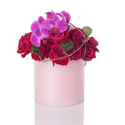 Orchids and Rose Box